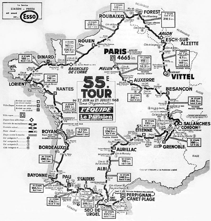 TdF1968Route